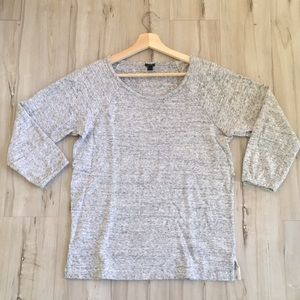 J.Crew FEATHERWEIGHT FRENCH TERRY SWEATSHIRT